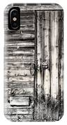 Old Barn Door IPhone Case