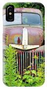 Old Car Grave Yard IPhone Case