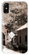 Old Car Older Barn Oldest Bridge IPhone Case