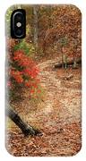 Old Country Road In Shannon County IPhone Case