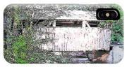 Old Covered Bridge IPhone X Case