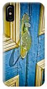 Old Door New Paint IPhone Case