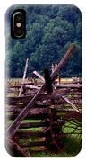Old Farm Hay Rake IPhone Case