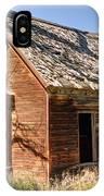 Old Farm Homestead - Woodland - Utah IPhone Case