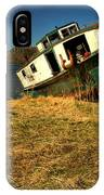 Old Fishing Boat IPhone Case