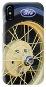 Old Ford Wheel IPhone Case