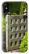 Old Garden Entrance IPhone Case