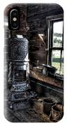 Old Ghost Town Stove - Molson Washington IPhone Case