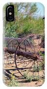 Old Hay Rake IPhone Case