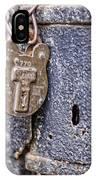 Old Lock IPhone Case