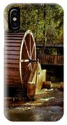 Old Mill Park Wheel IPhone Case