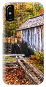 old mill Smoky Mountains IPhone Case