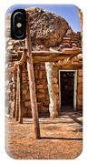 Old Navajo Stone House IPhone Case
