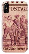 Old Nra Postage Stamp IPhone Case