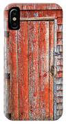 Old Orange Door  IPhone Case