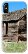 Old Ranch Hand Cabin IPhone Case