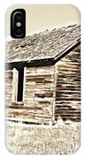 Old Ranch Hand Cabin L IPhone Case