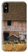 Old Rosedale Barn IPhone Case