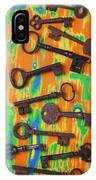 Old Rusty Keys IPhone Case