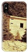 Old Shed Nothing Left But Memories IPhone Case