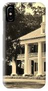 Old Southern Plantation IPhone Case