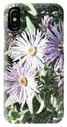 Old Style Flower 7 IPhone Case