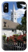 Old Town Mystic Church IPhone Case