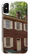 Old Town Philadelphia Brownstone House IPhone Case
