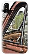 Old Truck Mirror IPhone Case