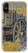 Old Wagon At Bodie Ghost Town IPhone Case