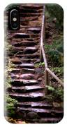 Old Wet Stone Steps IPhone Case