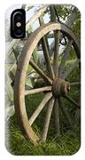 Old Wooden Cartwheel - Nostalgia IPhone Case