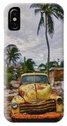 Old Yellow Truck Florida IPhone Case