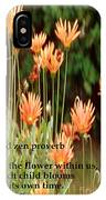 Old Zen Proverb IPhone Case