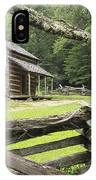 Oliver Cabin In Cade's Cove IPhone Case