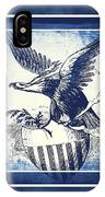 On Eagles Wings Blue IPhone Case