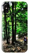 On Our Way Chasing The Eternal Flame At Chestnut Ridge Park IPhone Case