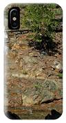 On The Rocks Glen Alpine Creek And Falls IPhone Case