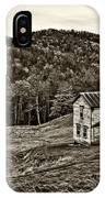 Once Upon A Mountainside Sepia IPhone Case