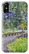 One Lane Bridge - Vail IPhone Case