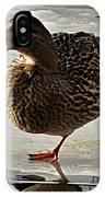 One-legged Duck IPhone Case