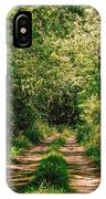 One Lonely Path IPhone Case