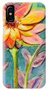 One Pink Flower IPhone Case