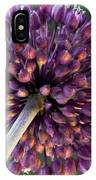 Onion Flower IPhone Case