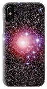 Open Star Cluster Ngc 2451 IPhone Case