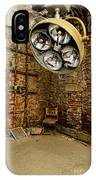 Operating Room - Eastern State Penitentiary IPhone Case