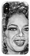 Oprah Winfrey In 2007 IPhone Case