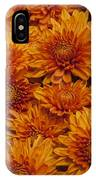 Orange Mums IPhone Case