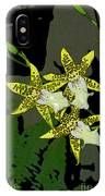 Orchid Trilogy IPhone Case