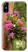 Orchids On Tree IPhone Case